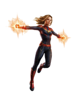 Avengers Endgame Captain Marvel PNG by Metropolis-Hero1125
