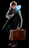 Fantastic Beasts 2 Newt Scamander PNG by Metropolis-Hero1125