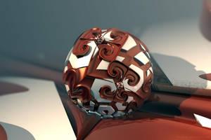 Gnarled Sphere by batjorge