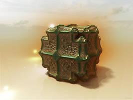 Tatooine Cube by batjorge