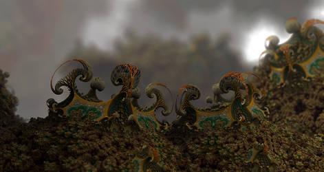 Paleocene era by batjorge