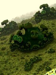 Green Worlds by batjorge