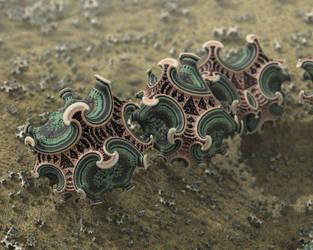 Green Little Beings by batjorge