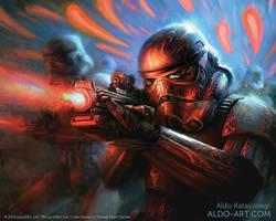 Star Wars Stormtroopers by AldoK