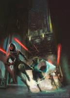 Star Wars rulebook illustration by AldoK