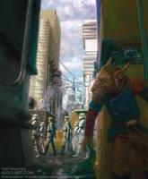 Star Wars Trading Card Game - Bothan Spy by AldoK