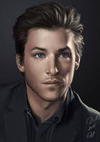 Gaspard Ulliel by Ngaladel