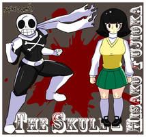 The Skull - Hisaku Fujioka by SpikeRamos