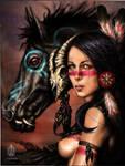 The Spirit-Horse by EduardoMonteiro