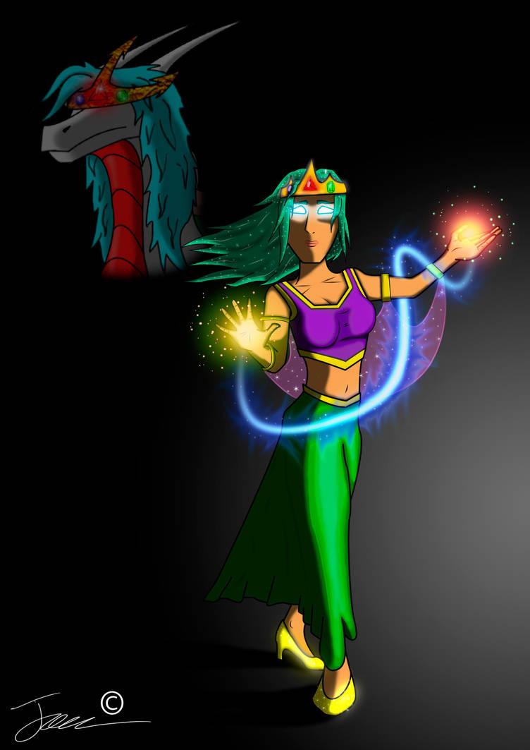 Princess Hirra Nu'Moidea - (Human) by HopsWatch92