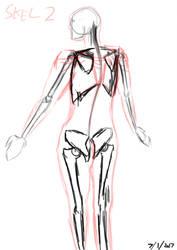 Skeleton Test 2 by HopsWatch92