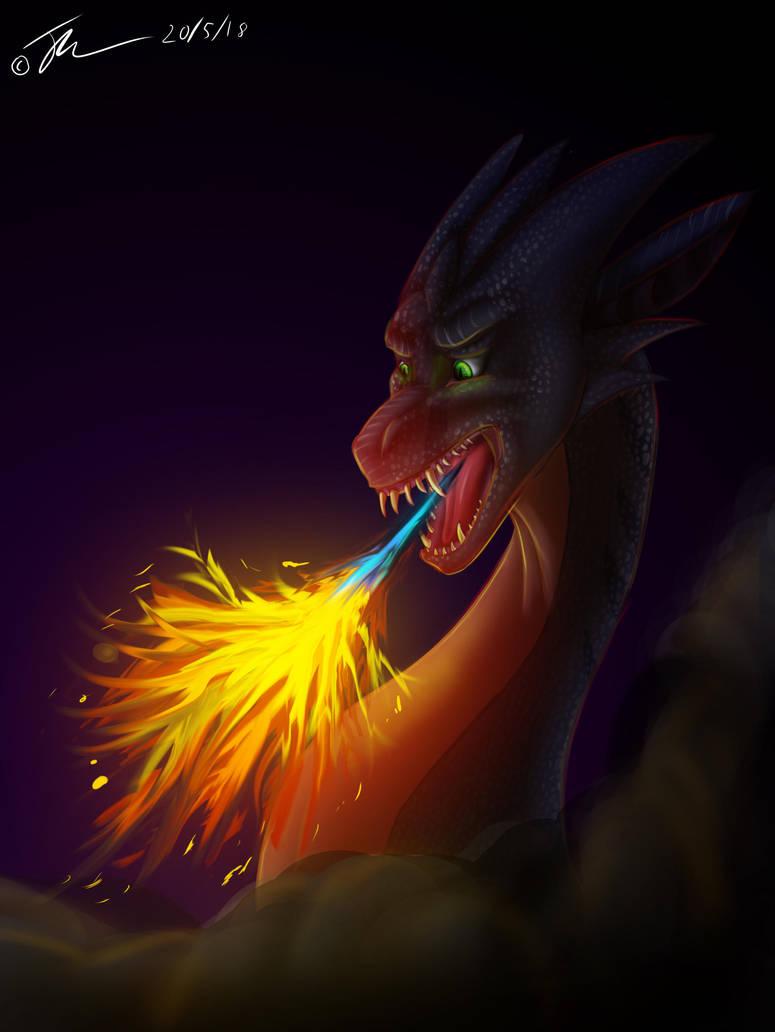 Birthday Art - Ilkyra - Fire Reborn by HopsWatch92