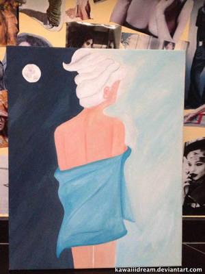 dream on canvas by Kawaiiidream