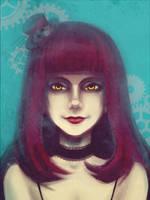 Steampunk lady by Vampiii