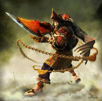 NahgaWangsa- Nusantara Warrior by CYCOMarts