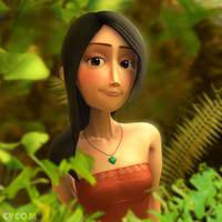 Mawasari - Wood Nymph princess by CYCOMarts