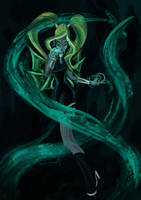 Glaicy, fairy of water by SonatAofIcEandFire