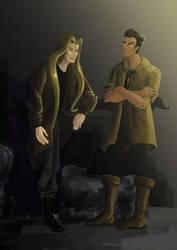 Darius and Qos by SonatAofIcEandFire