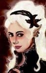 Skadi's portrait by Madalinka