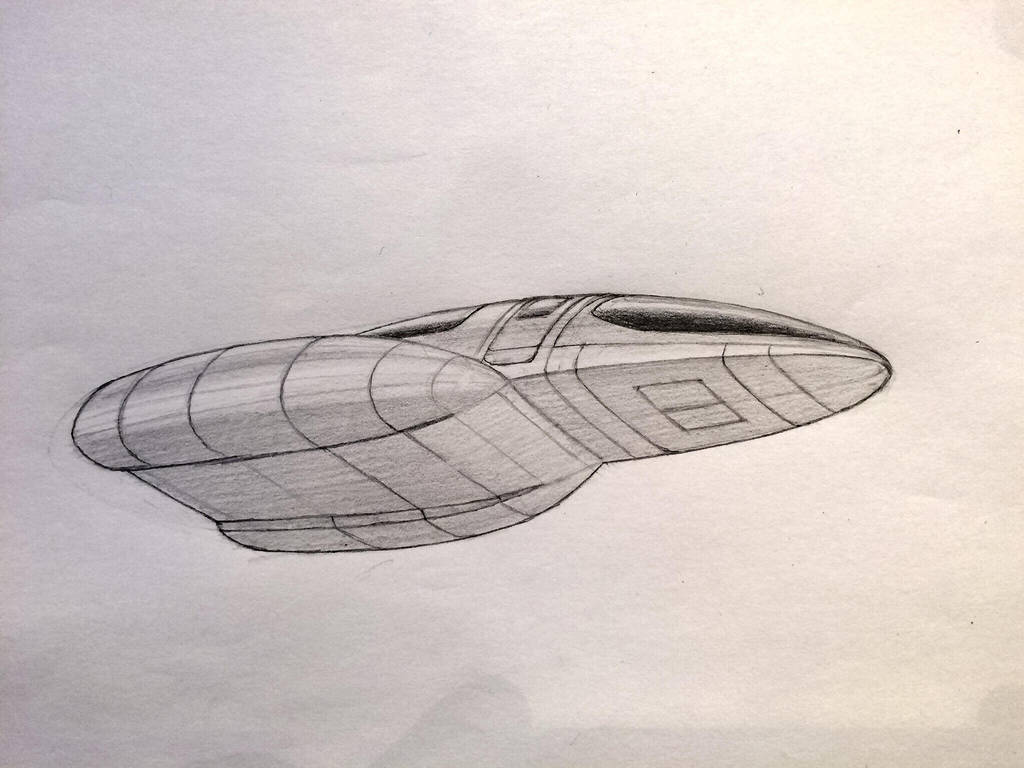 Space Runabout Concept by JamesF63