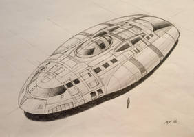 Seeker (Rough concept sketch) by JamesF63