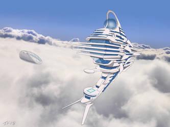 Sky Hotel by JamesF63