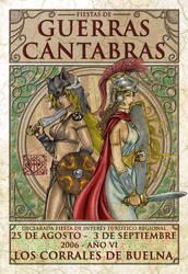 Cantabrian wars wall chart by irikoy