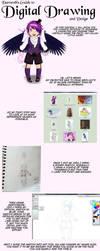 Digital Art Tutorial (cell method) by darocoth