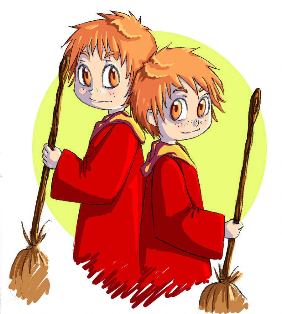 Fred and George--Han1 by HanHan
