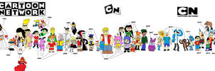 Cartoon Network evolution by FireIce64