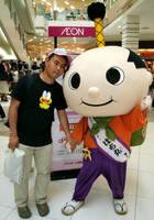 Hachimaru and me by yellowmocha
