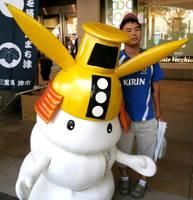 Shiromochi-kun and me 2 by yellowmocha