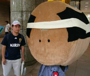 Monaka Zamurai and me by yellowmocha