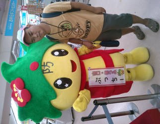 Bucchi and me by yellowmocha
