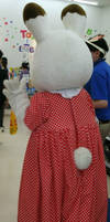 Chocolate Rabbit Sister (Regular costume) 8 (back) by yellowmocha