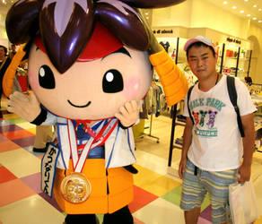 Katunari-kun and me 1 by yellowmocha
