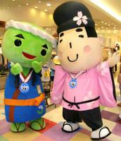 Kyabezo and Tofu-kun by yellowmocha