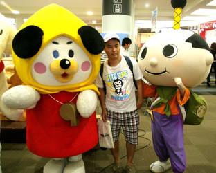 Ji-jyo and Hachimaru and me by yellowmocha