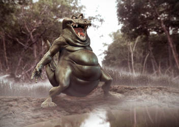 A Day in the swamp by EditionDug