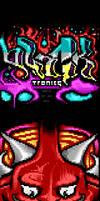 ANSI DEVIL by binarywalker