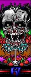 Vampireskull by binarywalker