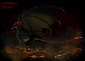Darkness dragon by Anutwyll