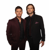 Jensen Ackles and Jared Padalecki Png by XxPrettyxX