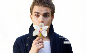 Paul Wesley Png by XxPrettyxX