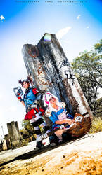 Borderlands Gaige and Tiny Tina by Mikycosplay