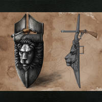 Templar Tactical Shield by Kinpachi-Sensei