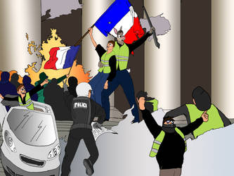 Storming of the French Parliament by MatthewCipolla1
