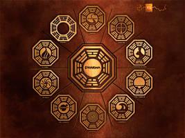 Dharma Wallpaper by vectorgeek