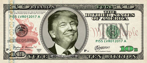 Drumpf-currency by vectorgeek