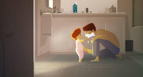Shaving by PascalCampion